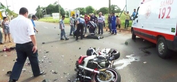 Os gastos do SUS com acidentes de motos foram de R$ 112,9 milhões, segundo ministério da Saúde.Foto:TI Noticias