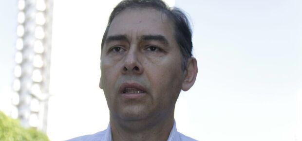 Prefeito chega à Câmara para se reunir com novo presidente da Casa/Foto: Taciane Peres