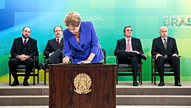 Dilma cria Lei em prol da corrupção