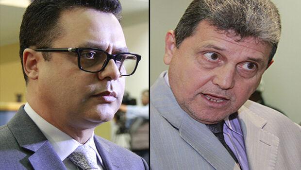 Presidente Flávio César e articulador do golpe, João Rocha.