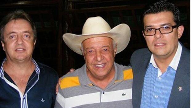 Luiz Pedro, Chapeludo e Gilmar Olarte