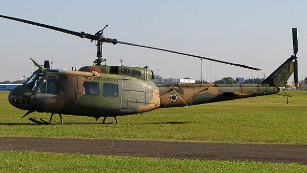 Helic�ptero do Esquadr�o Pelicano.