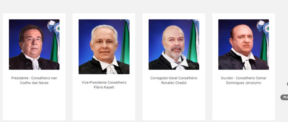 Sete conselheiros do Tribunal de Contas de MS, ganham juntos R$ 1,4 milhão