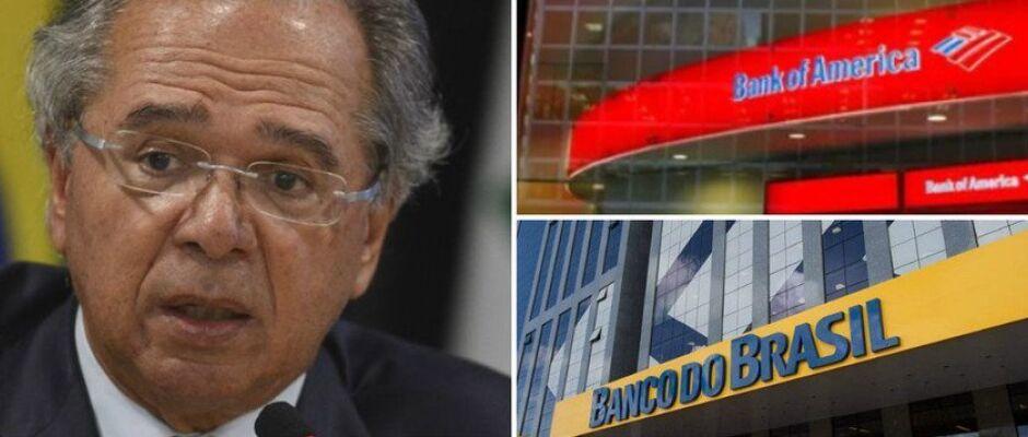 Guedes diz que vai entregar Banco do Brasil para banco americano