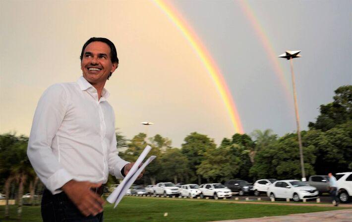 Esse é Marquinhos Trad (PSD), atual prefeito de Campo Grande e candidato a reeleição em 2020