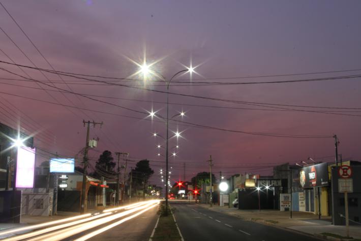 Céu em Campo Grande durante a madrugada