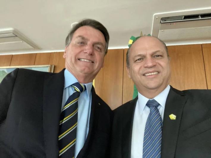 Jair Bolsonaro e Ricardo Barros