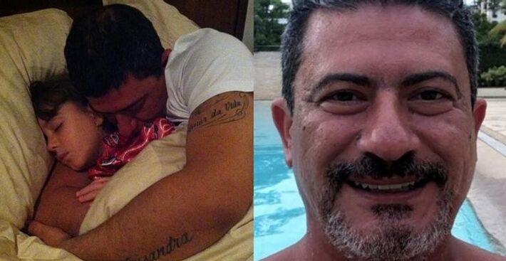 Filha de Tom Veiga emociona ao falar sobre o pai: ''Dor inexplicável''