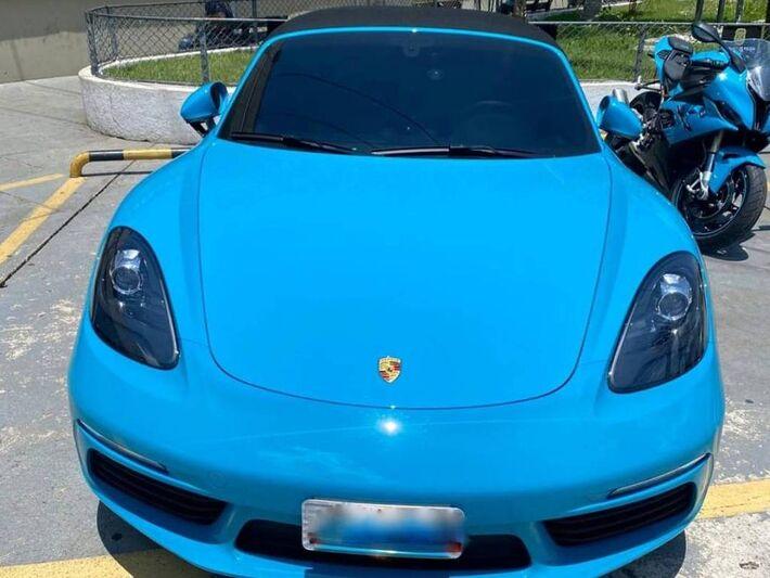 Porsche avaliado em quase R$ 400 mil