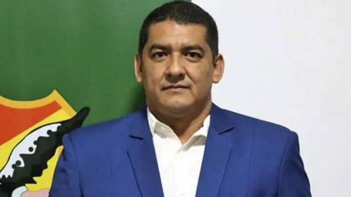 Marco Rodriguez, presidente interino da Federação de Futebol da Bolívia (FBF), foi preso na noite desta quinta (12) durante jogo das Eliminatórias Sul-Americanas da Copa do Mundo