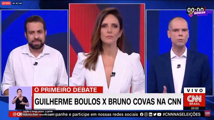 Debate é promovido pela CNN Brasil