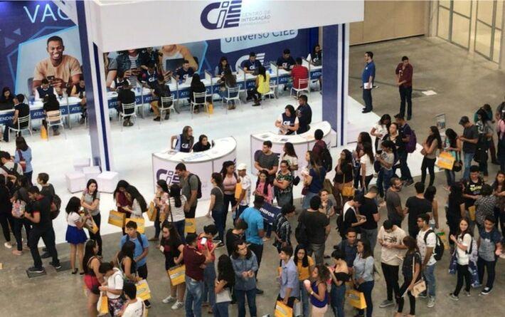 Expo CIEE de 2019 atraiu milhares de estudantes. Neste ano, evento é virtual