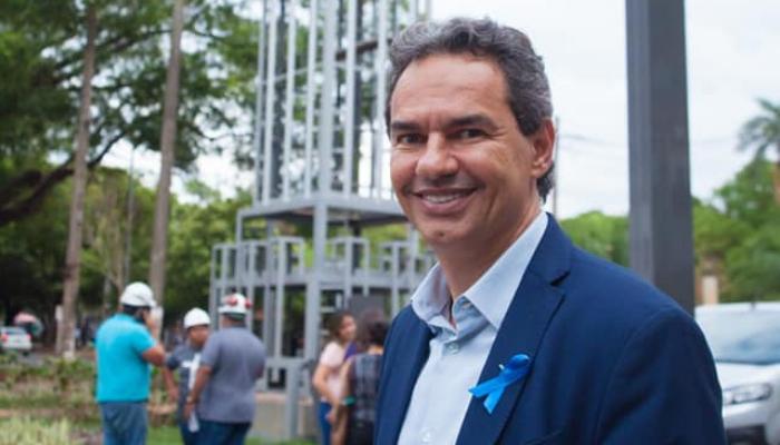Esse é Marquinhos Trad (PSD), atual prefeito de Campo Grande reeleito em 2020