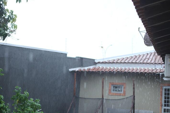 Chuva em Campo Grande