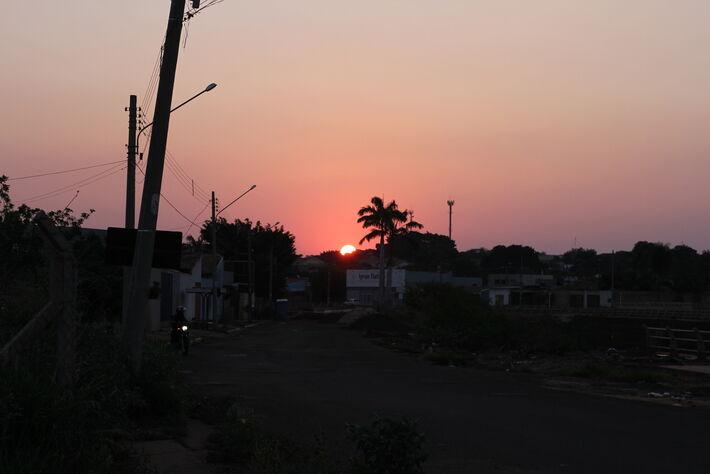 Fim de tarde na Capital de Mato Grosso do Sul