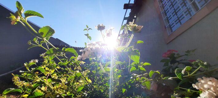 Sol em Campo Grande