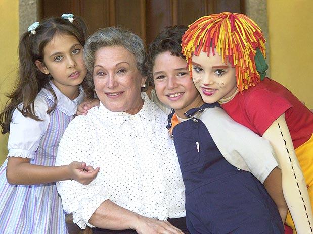 """Dona Benta, e outros personagens do """"Sítio do Pica-Pau Amarelo"""""""