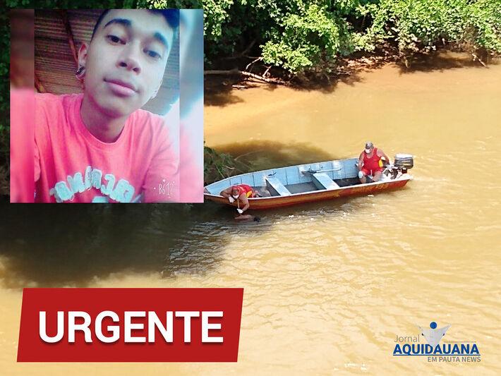 O corpo de Nalberto Ortiz Pereira, foi encontrato no Rio Aquidauana.