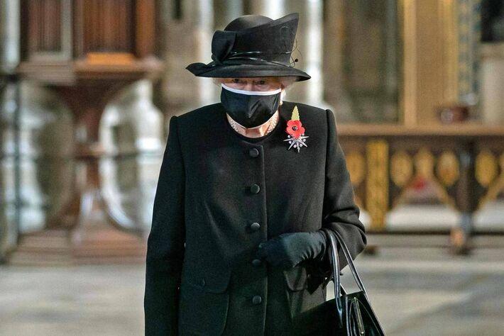 Rainha Elizabeth II, junho de 2020.