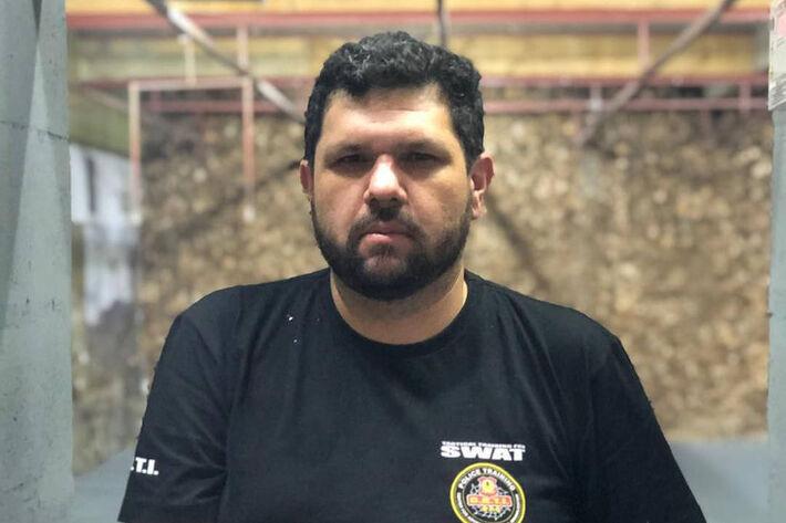 O blogueiro Oswaldo Eustáquio