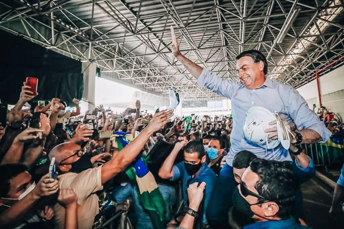 Bolsonaro em Aracaju: um dia depois de visitar usina termelétrica em Sergipe, o presidente vai a Mato Grosso do Sul para inaugurar sistema de radar