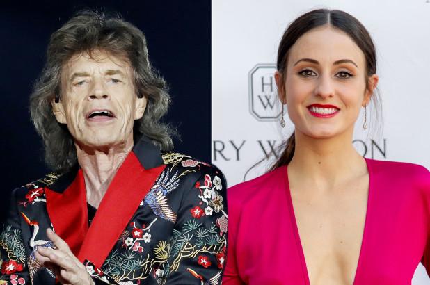Mick Jagger e Melanie Hamrick