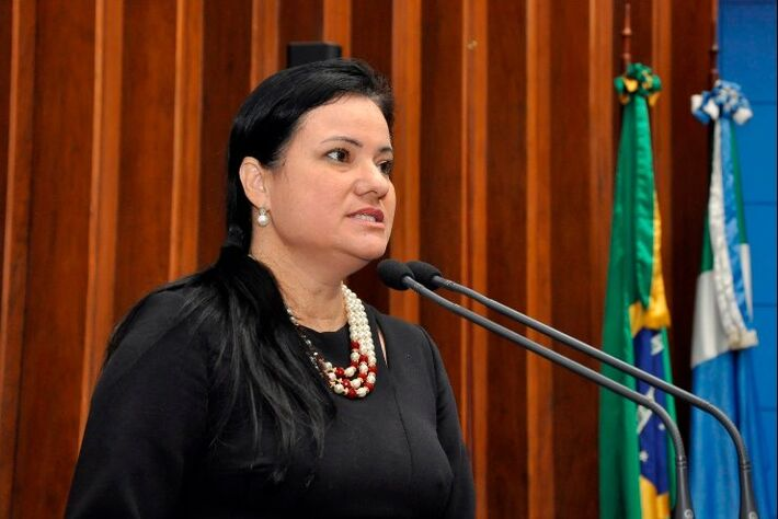 Delegada Joilce Ramos, titular da Deam