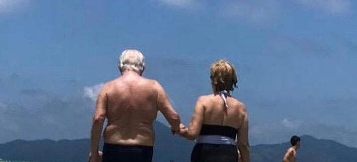Eles erma casados há 57 anos