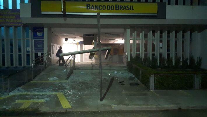 Agencia Bancária alvo dos criminosos em Cametá (PA)