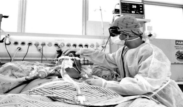 Imagem paciente da Covid-19