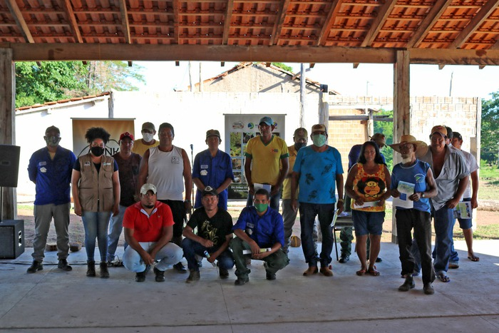 Membros da equipe Abink