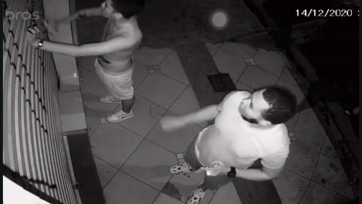 Rostos dos suspeitos são revelados em vídeo