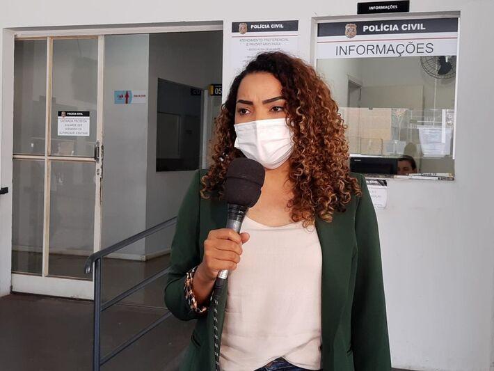 Suéllen Rosim foi à delegacia na terça-feira (1º) em Bauru após ameaça de morte