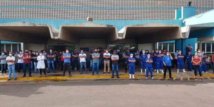 Funcionários da Santa Casa estão sem receber salários