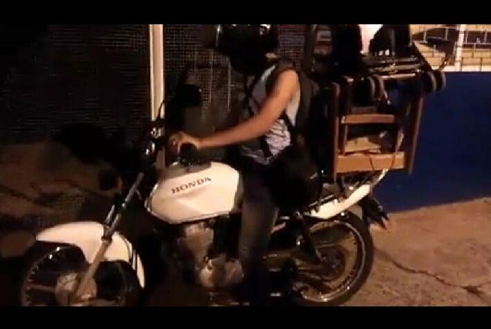 Honda, Job furtada na noite desta 2ª-feira (28.dez) em Campo Grande