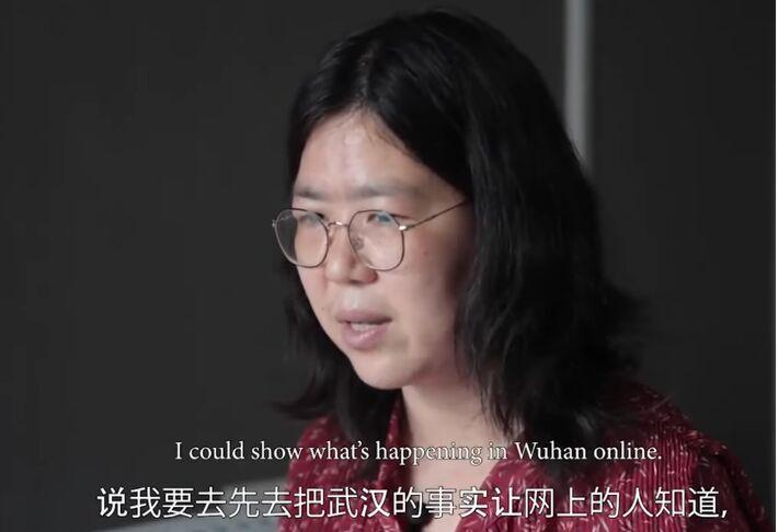 Perseguida, Zhang encontrou nas redes a saída para publicar sobre a pandemia da Covid em Wuhan