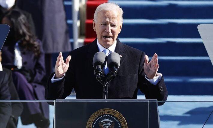 Joe Biden discursa pela primeira vez como presidente dos Estados Unidos