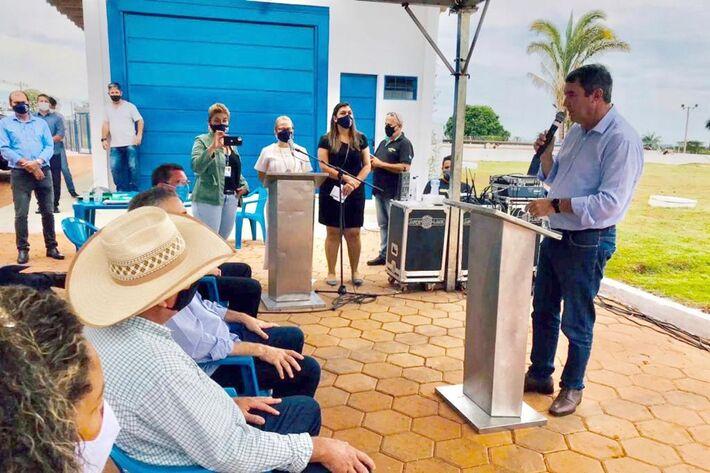 Investimento de R$ 13 milhões: entrega de obras de saneamento em Três Lagoas