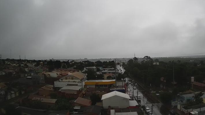 Chove na região Norte de MS