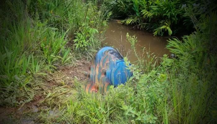 Corpo encontrado às margens de rio em MS
