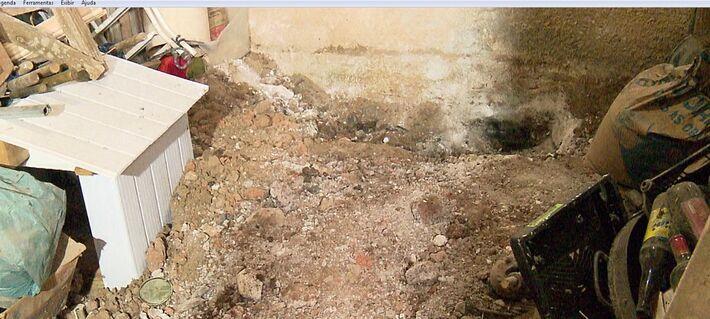 Corpo da vítima foi enterrado dentro da casa do casal, em Fazenda Rio Grande
