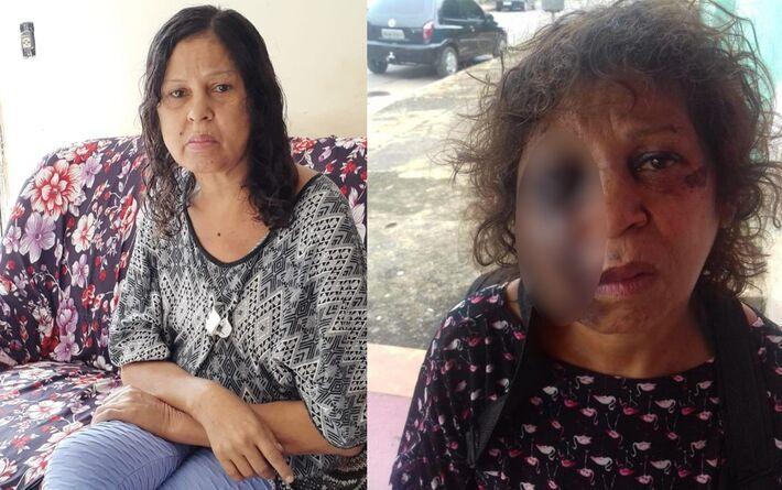 Denise Alves Fernandes morreu após ser agredida em Aparecida de Goiânia