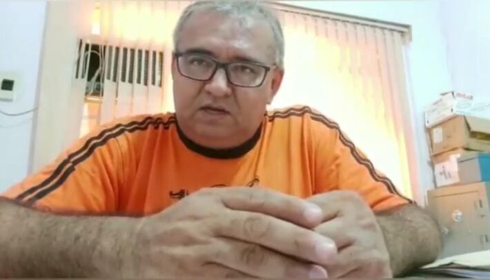 Esse é Florêncio Garcia Escobar, de 55 anos