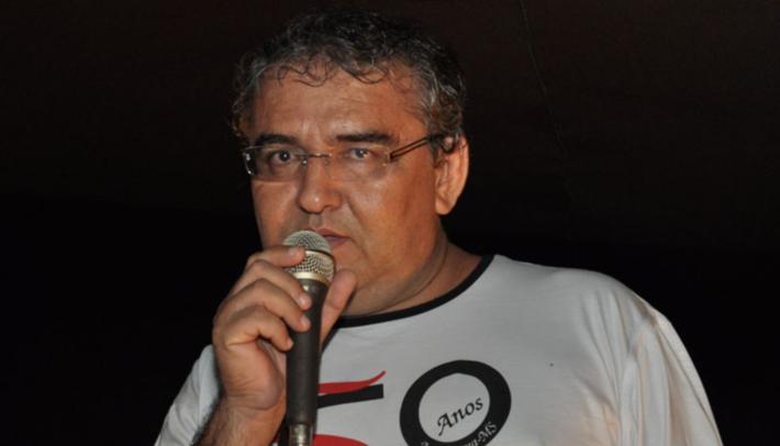 O professor de geografia Florêncio Garcia Escobar