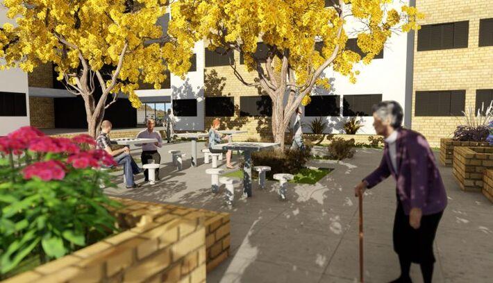 'Vila da Melhor Idade' estará localizada próxima ao Horto Florestal com serviços aos idosos e aluguel social