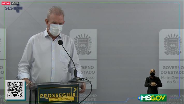Esse é Geraldo Resende (Sec. de Saúde de MS)