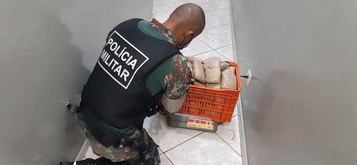 Catarinense é preso em MS; levava 12 kg de haxixe para Joinville (SC)