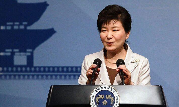 A ex-presidente Park Geun-hye