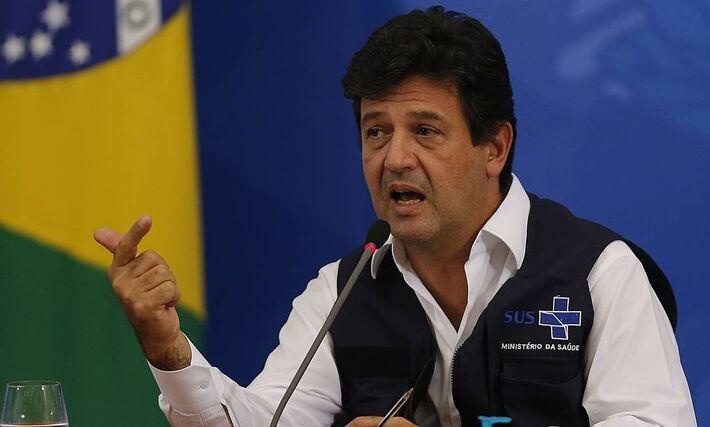 O exx-ministro da Saúde, Luiz Henrique Mandetta