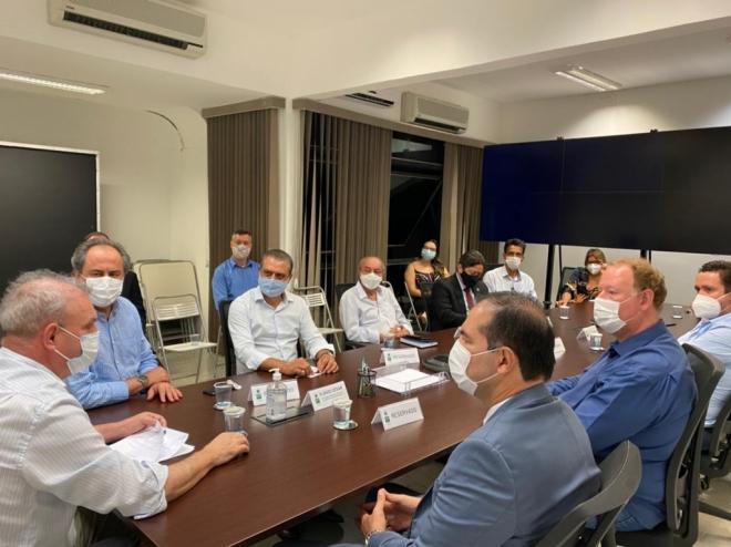 Reunião com representantes do Governo do Estado e Prefeitura de Campo Grande